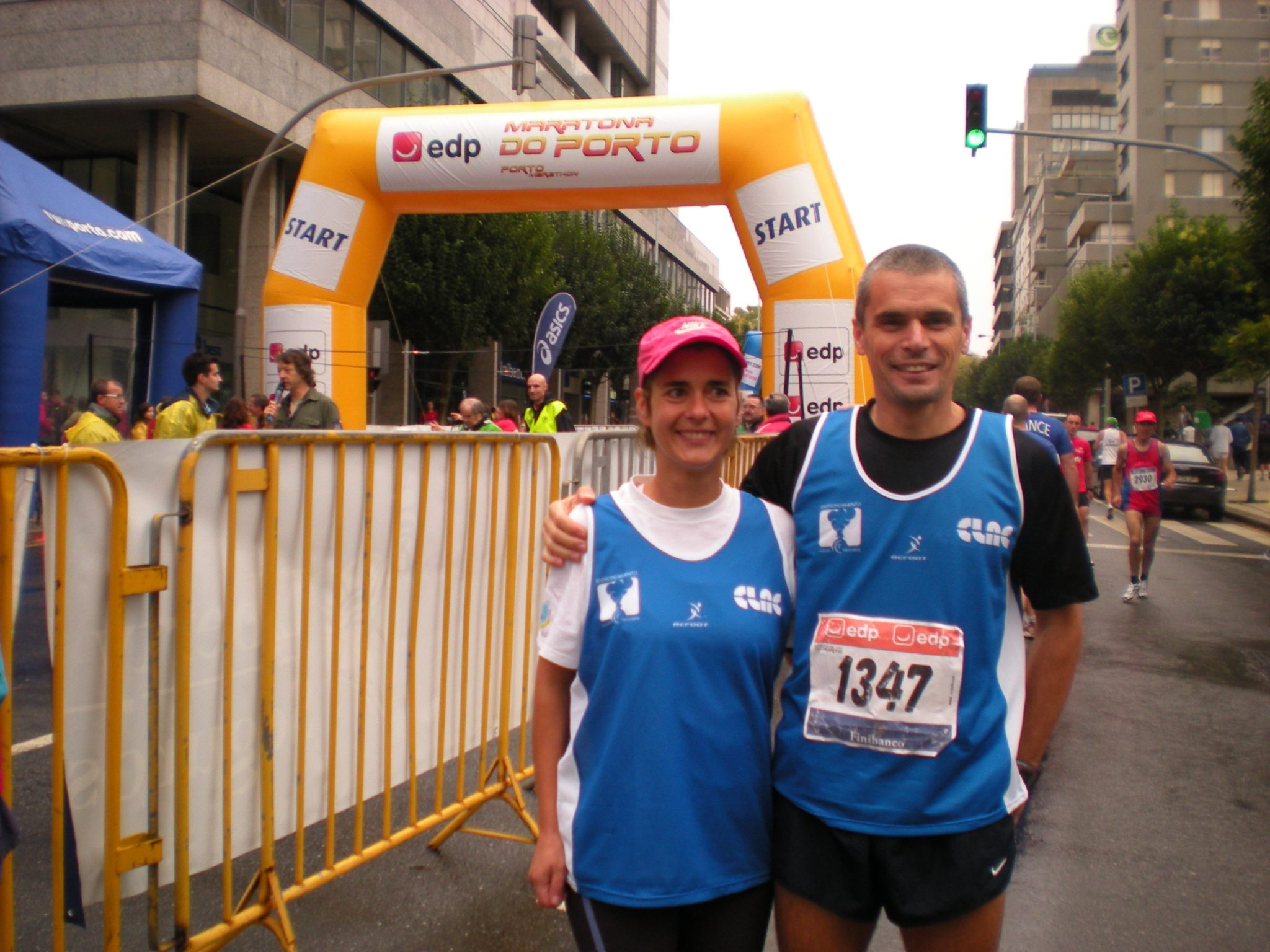 Otília Leal no top ten da maratona nacional