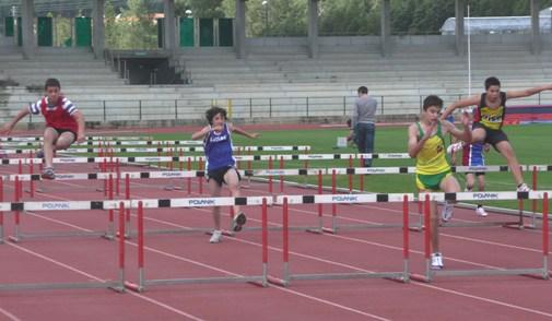 atletas participaram  na Taça FPA de Velocidade e Barreiras