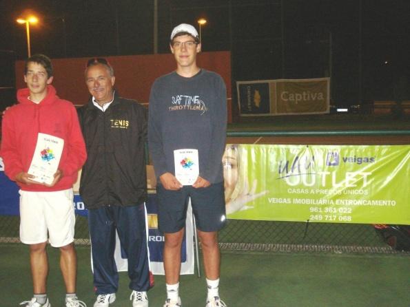 Sucesso desportivo no III Torneio de Ténis Juvenil
