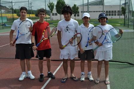 Tiago Rabaça e David Monteiro fizeram par e venceram o Torneio de Pombal