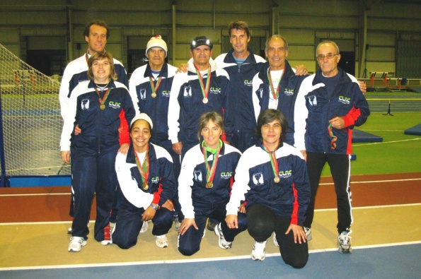veteranos, alcançam 18 títulos de campeão nacional
