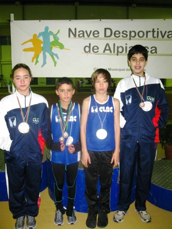 4 pódios no Torneio Jovem de Alpiarça