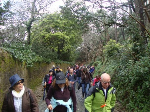 59 participantes no assalto ao Castelo dos Mouros em Sintra