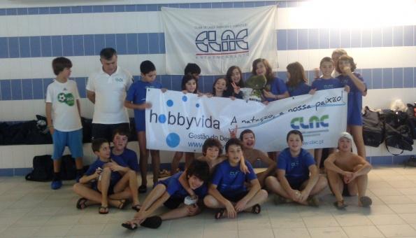 na natação, cadetes batem 60 Recordes Pessoais