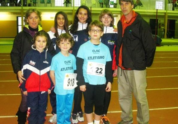 Jovens atletas  participaram no Torneio Jovem de Alpiarça de Pista Coberta
