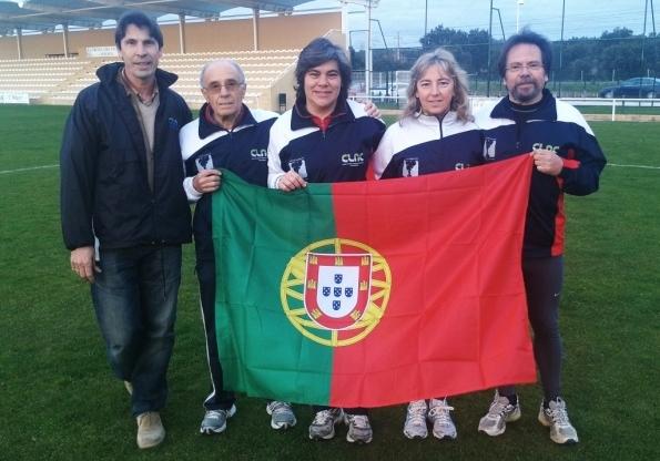 Nossos Atletas  participam nos Campeonatos de Europa de Veteranos