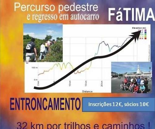 4º Percurso pedestre: Entroncamento – Fátima