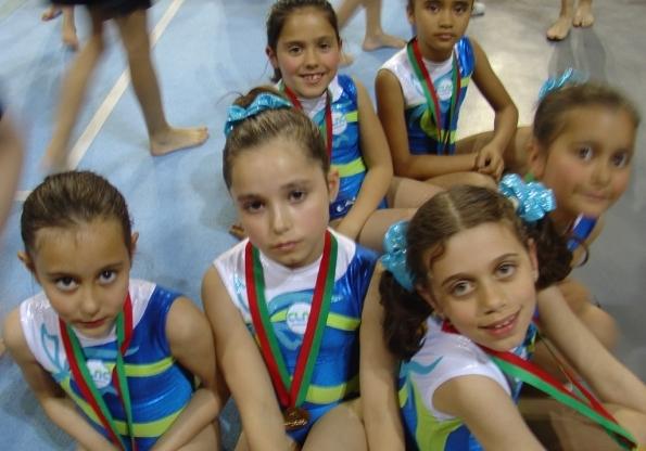 ginastas presentes  no 1º Memorial Guilherme Gonçalves