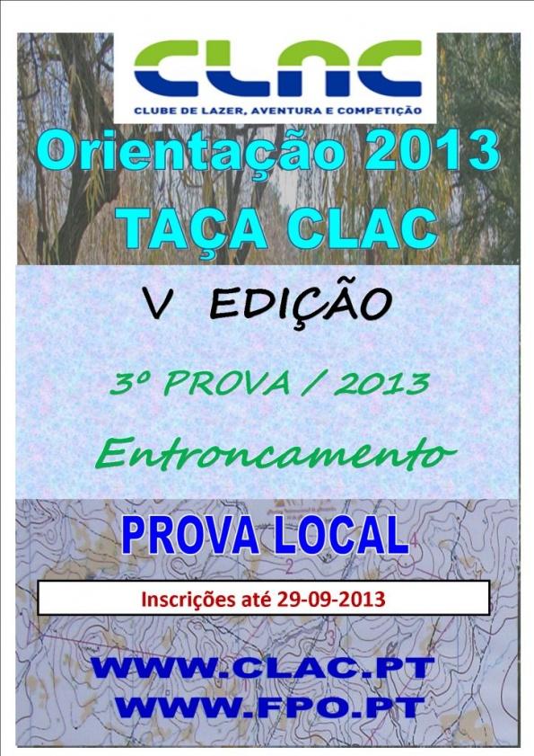 TAÇA CLAC 2012 CARTAZ