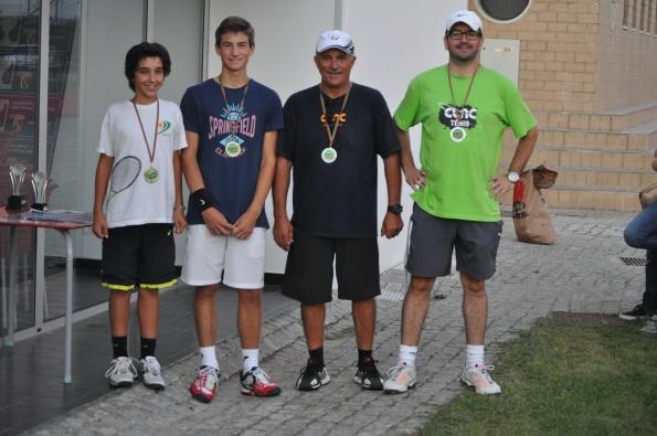 O sucesso das 24 horas de ténis do CLAC