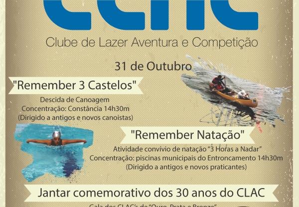 CLAC celebra 30 anos a formar desportistas