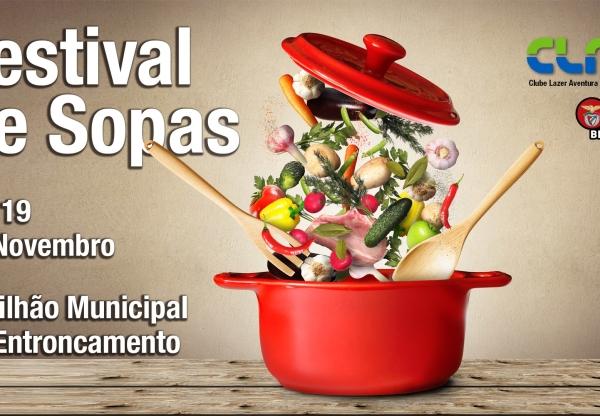 vêm aí o Festival das Sopas. compre o seu ingresso antecipadamente!