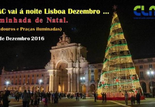 Caminhada noturna de Natal em Lisboa by CLAC