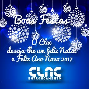 O CLAC deseja a todos os atletas, familiares e apoiantes Boas Festas!