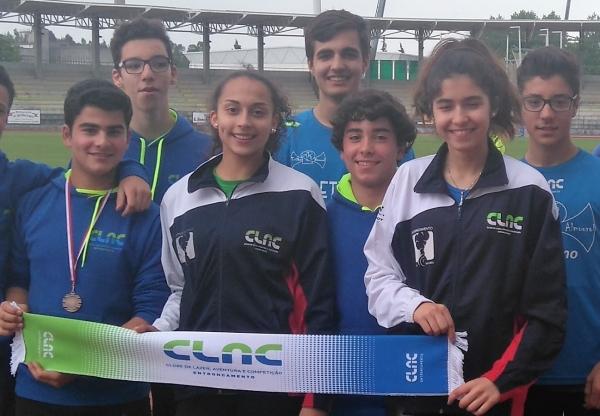Inês Conceição do CLAC  é Bi Campeã Regional de Olímpico Jovem
