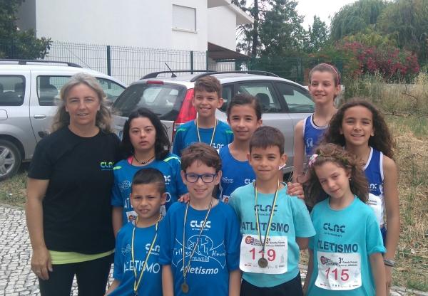 CLAC com 4 pódios no 3º GP Atletismo Casa Benfica em Abrantes