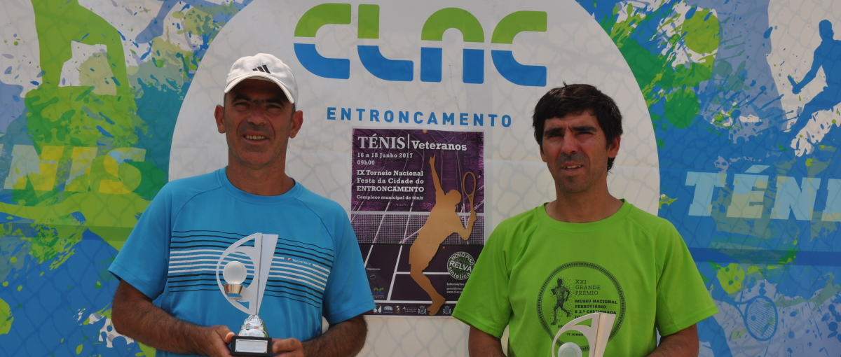 João Pimenta Finalista + 45 anos no IX Torneio Nacional Veteranos – Festa da Cidade Entroncamento