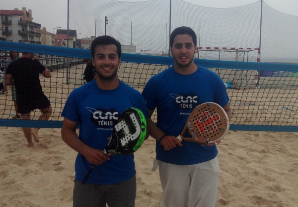 TÉNIS de PRAIA – Tiago Rabaça/Eduardo Boavida 3º Lugar no Torneio Regional na Praia de Pedrógão