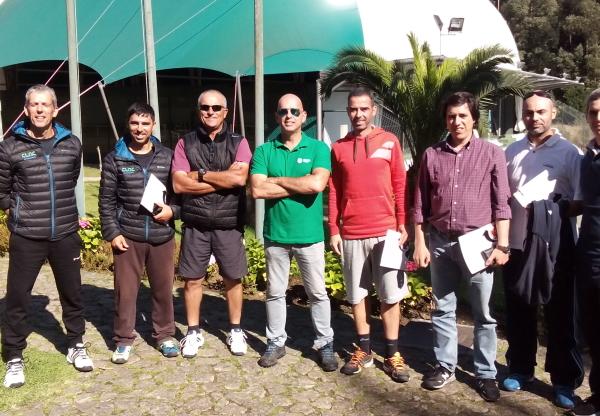 Treinadores de Ténis do CLAC em Formação