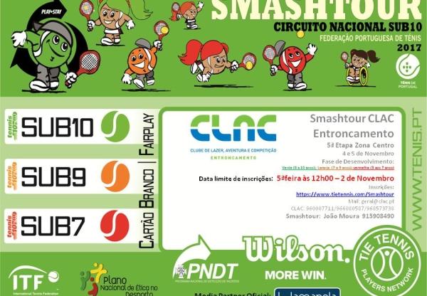 Ténis – SmashTour CLAC no Circuito Nacional Sub 10