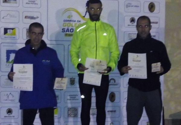Atletas do CLAC na São Silvestre da Golegã e Lisboa – Nelson Oliveira 3º M40 na Golegã