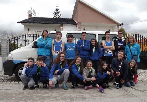 CLAC alcança 3 pódios  nos escalões jovens do Corta Mato Regional Longo.