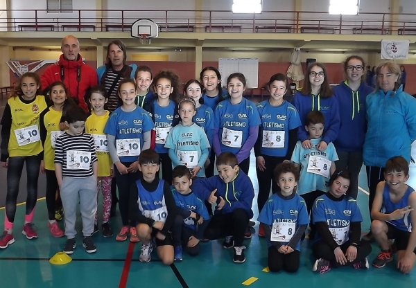CLAC no Kids Athletics de Almeirim