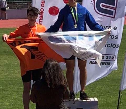 Gabriel Heitmann do CLAC  é Campeão Regional de Olímpico Jovem.
