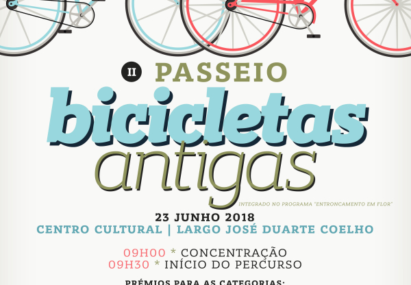 II Passeio de Bicicletas Antigas dia 23 de Junho