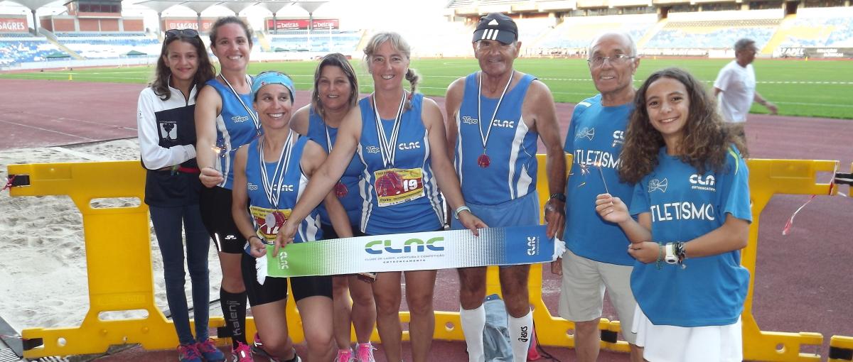 """CLAC conquista 13 medalhas  no Torneio Internacional Atletismo Master  """"Cidade Coimbra/SABSEG"""""""