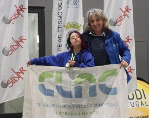 Ana Guita do CLAC  consagra-se Vice Campeã Nacional  de Inverno de Desporto Adaptado