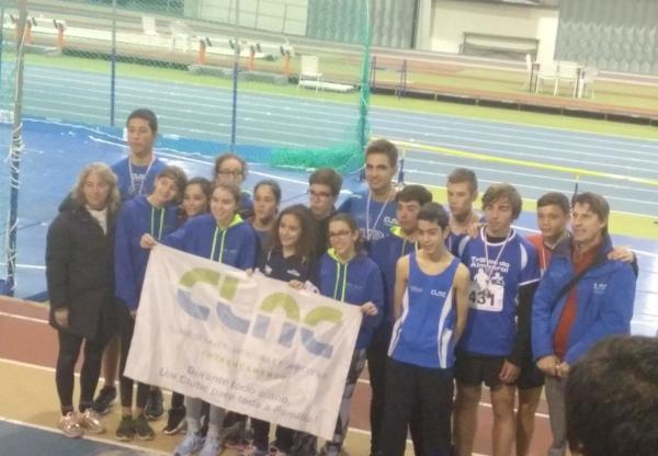 CLAC com muitos pódios nos  Campeonatos Regionais de Juvenis em Atletismo