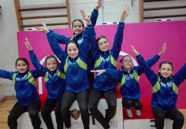 CLAC no Torneio de Carnaval do LGC – Ginástica Artística Feminina