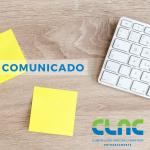 Comunicado – COVID-19- funcionamento à distância